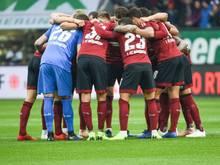 Die Nürnberger gaben eine 1:0-Führung aus der Hand