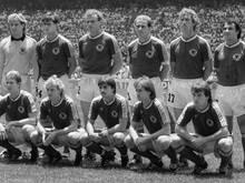 Eder (2. unten von rechts) spielte im WM-Finale 1986