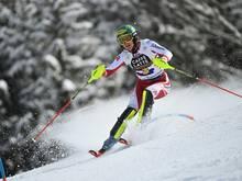 Liensberger führt nach dem ersten Lauf im Slalom