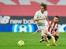 Modric hat seinen Vertrag bei Real Madrid verlängert