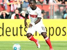 Chadrac Akolo erzielt den Siegtreffer für den VfB
