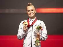 Melnikowa gewann nach olympischen Gold nuun auch WM-Gold