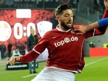 Brandon Borrello fehlt dem FCK bis zum Saisonende