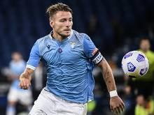 Lazio Rom: Ciro Immobile wurde negativ getestet
