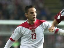 André Schembri absolvierte neun Ligaspiele für den FSV