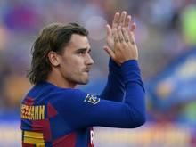 Griezmann lief erstmals für Barca im Camp Nou auf