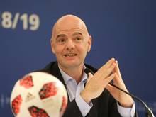 FIFA-Boss Infantino stößt bei der UEFA nicht auf Gegenliebe