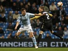 Ched Evans (l.) vor Rückkehr in den bezahlten Fußball