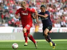 Kacper Przybylko (l.) stürmt ab sofort für Bielefeld