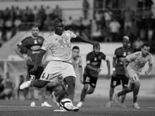 Der verstorbene Fußball-Profi Albert Ebossé