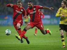 Lars Bender und Jonathan Tah fehlen Bayer Leverkusen gegen Schalke