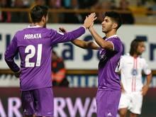 Real Madrid setzt sich gegen CD Leonesa durch