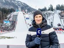 Bleibt weiterhin Experte für Eurosport: Martin Schmitt