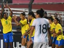 Brasiliens Frauen laufen künftig in eigenen Trikots auf