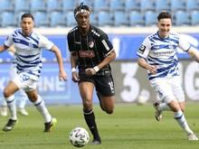 Maxime Awoudja spielte in der Rückrunde für Türkgücü