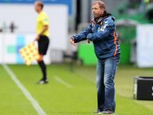 Trainer Frank Kramer kann mit Daniel Steininger planen