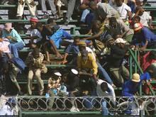 Massenpanik bei einem Spiel in Angolas Hauptstadt Luanda