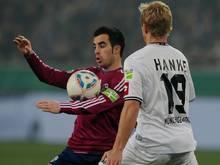 Jurado (l.) spielte von 2010 bis 2012 bei Schalke