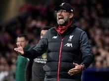 Jürgen Klopp musste mit Liverpool eine Niederlage hinnehmen