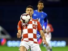 Kramaric erzielt den Siegtreffer gegen Aserbaidschan