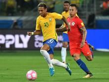 Losglück für Neymar und Brasilien
