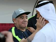 Diego Maradona legt Traineramt bei Al Fujairah nieder