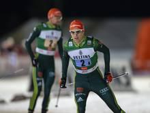 Geiger holt als Schlussläufer Silber für die Kombinierer