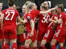 Die Bayern-Frauen gewinnen souverän gegen den SC Freiburg