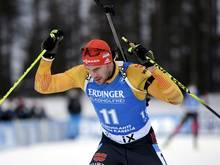 Arnd Peiffer verpasst seinen elften Weltcup-Sieg knapp