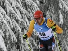 Oberhof: Rang drei für Arnd Peiffer im Sprint