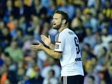 Shkodran Mustafi springt mit Valencia auf Rang vier