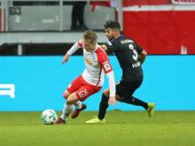 Joshua Mees (l.) wechselt zu Union Berlin