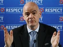Gianni Infantino hat genug von der FIFA-Krise