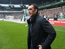 Bekommt Unterstützung aus Oldenburg: Werders Robin Dutt