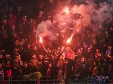 Eine Gruppe der gewalttätigen Fans wurde verhaftet