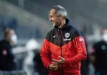 Adi Hütter ist zuversichtlich vor Duell mit Leverkusen
