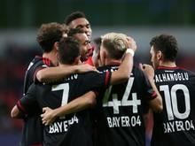 Leverkusen feierte einen klaren Sieg in Bremen
