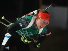 Feiert ihr Comeback beim IBU-Cup: Laura Dahlmeier