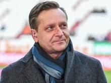 Horst Heldt will weiter an Hannover-96-Trainer Doll festhalten