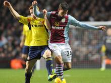 Von Aston Villa an Celtic ausgeliehen: Alexandar Tonew (r.)