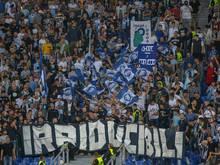 Die Fans von Lazio sollen 50.000 Euro zahlen