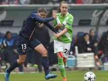 Wolfsburgs Caroline Hansen (r.) fällt lange aus