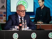 Fritz Keller begrüßt Restart der Bundesliga