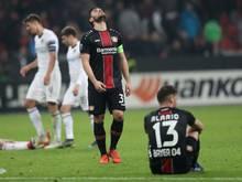 Bayer Leverkusen schied aus der Europa League aus