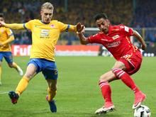 Nik Omladič (l.) wechselt von Braunschweig nach Fürth