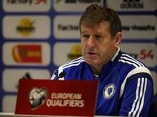Safet Susic ist nicht mehr Trainer Bosnien-Herzegowinas