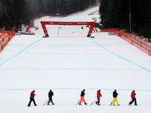 """Der Zieleinlauf beim Weltcup in """"GAP"""" am 2. Februar"""