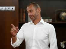 Aleksander Ceferin geht von einer EM mit Fans aus