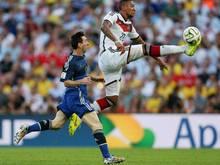 Boateng war mit seiner Leistung im WM-Finale mehr als zufrieden