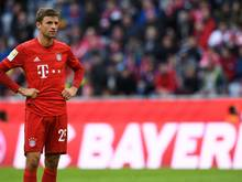Zum sechsten Mal in Folge auf der Bank: Thomas Müller